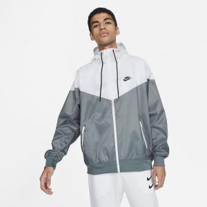 Мужская куртка с капюшоном Nike Sportswear Windrunner - Серый