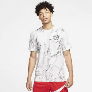 Мужская баскетбольная футболка с принтом Nike HBR CD1089-100