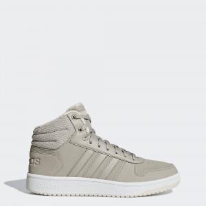 Женские зимние кроссовки adidas Hoops 2.0 Mid B42107