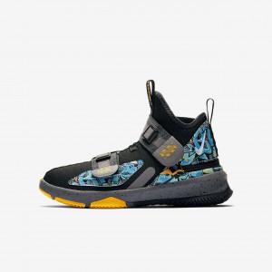 Детские баскетбольные кроссовки Nike LeBron Soldier 13 FlyEase CJ1317-070