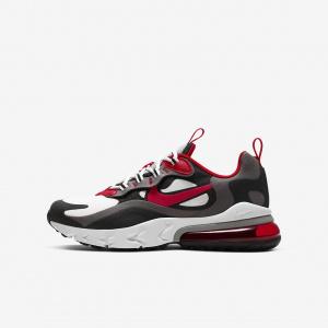 Кроссовки для школьников Nike Air Max 270 React - Серый