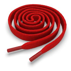 Шнурки плоские 160 см FL-LACE-RED-160