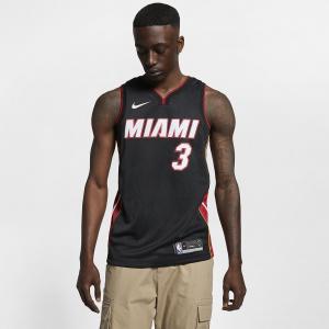 Мужская джерси Nike НБА Swingman Dwyane Wade Heat Icon Edition 864487-025