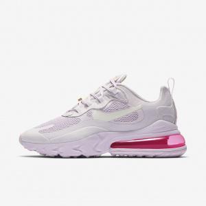 Женские кроссовки Nike Air Max 270 React - Пурпурный