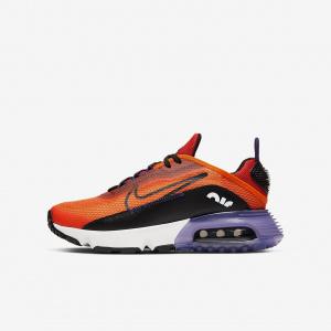 Кроссовки для школьников Nike Air Max 2090 - Оранжевый