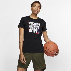 """Женская баскетбольная футболка Nike Dri-FIT """"Basketball is my Jam"""" BQ3683-010"""