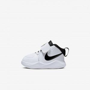 Баскетбольные кроссовки для малышей Nike Team Hustle D 9 AQ4226-100