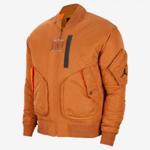 Мужская куртка Jordan MA-1 Flight - Коричневый