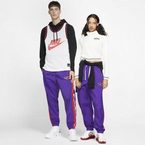 Баскетбольные брюки из тканого материала Nike Throwback AV9758-547