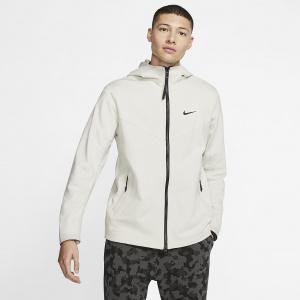 Мужская куртка с молнией во всю длину и капюшоном Nike Sportswear Tech Pack - Белый