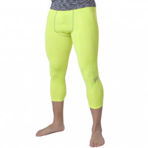 Тайтсы компрессионные MVP Leggins 3/4 TIGHT2LIME