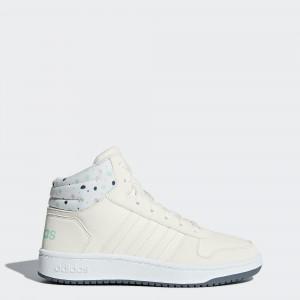 Детские баскетбольные кроссовки adidas Hoops 2.0 Mid B75751