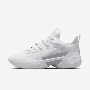 Баскетбольные кроссовки Jordan One Take II - Белый