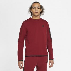 Мужской свитшот Nike Sportswear Tech Fleece - Красный