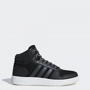 Женские зимние кроссовки adidas Hoops 2.0 Mid B42110