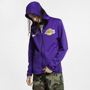 Мужская худи НБА Los Angeles Lakers Nike Therma Flex Showtime 940136-504