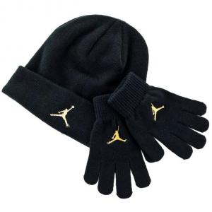 Детский комплект - шапка и перчатки Air Jordan Metal Jumpman Beanie and Glove Set 9A0124-023