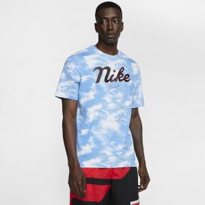 Мужская баскетбольная футболка с надписью Nike в винтажном стиле CD1096-100