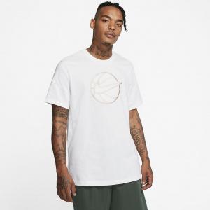Мужская баскетбольная футболка Nike с принтом из ворсистого материала CQ3878-100