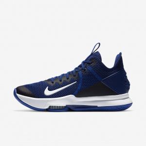 """Баскетбольные кроссовки Nike LeBron Witness 4 """"Deep Royal"""""""
