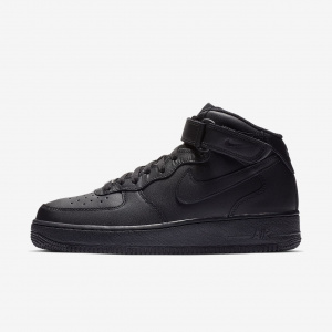 "Кроссовки Nike Air Force 1 Mid '07 ""Blackout"""