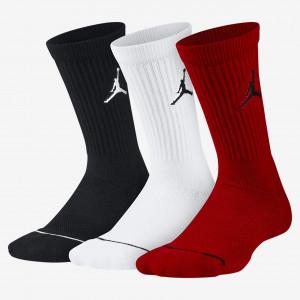 Носки для баскетбола Jordan Jumpman Crew (3 пары) SX5545-011